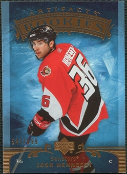 2006/07 Upper Deck Artifacts #236 Josh Hennessey /599