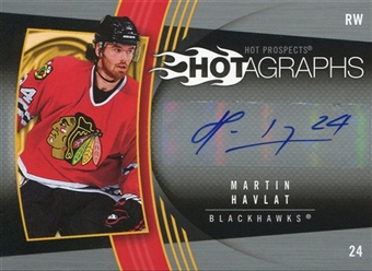 2006/07 Upper Deck Hot Prospects Hotagraphs #HHA Martin Havlat