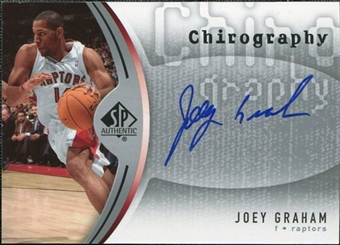 2006/07 Upper Deck SP Authentic Chirography #JG Joey Graham Autograph