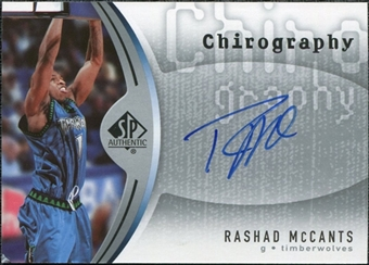 2006/07 Upper Deck SP Authentic Chirography #RF Rashad Mccants Autograph