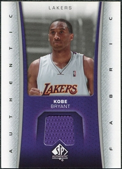 2006/07 Upper Deck SP Authentic Fabrics #KB Kobe Bryant