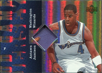 2006/07 Upper Deck UD Reserve Game Patches #AN Antawn Jamison