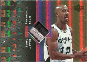 2006/07 Upper Deck UD Reserve Game Patches #BB Bruce Bowen