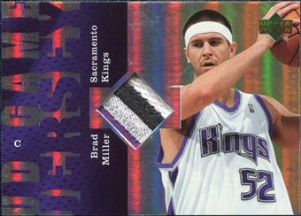 2006/07 Upper Deck UD Reserve Game Patches #BM Brad Miller