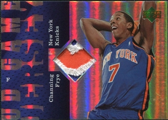 2006/07 Upper Deck UD Reserve Game Patches #CF Channing Frye