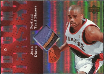 2006/07 Upper Deck UD Reserve Game Patches #JD Juan Dixon