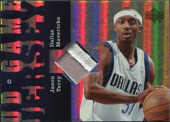 2006/07 Upper Deck UD Reserve Game Patches #JT Jason Terry