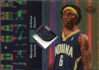 2006/07 Upper Deck UD Reserve Game Patches #MD Marquis Daniels