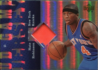 2006/07 Upper Deck UD Reserve Game Patches #NR Nate Robinson