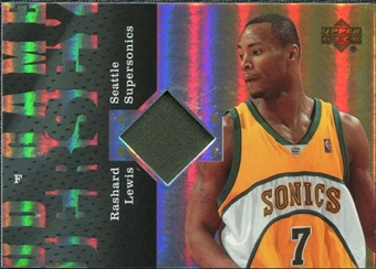 2006/07 Upper Deck UD Reserve Game Patches #RL Rashard Lewis
