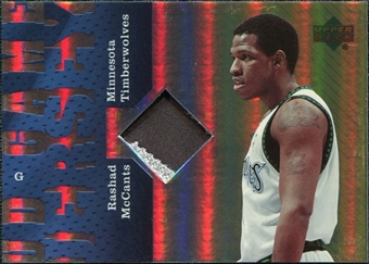 2006/07 Upper Deck UD Reserve Game Patches #RM Rashad McCants