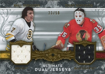 2006/07 Upper Deck Ultimate Collection Jerseys Dual Phil Esposito Tony Esposito #UJ2EE 23/50