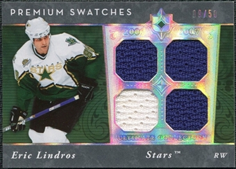2006/07 Upper Deck Ultimate Collection Premium Swatches #PSEL Eric Lindros 9/50