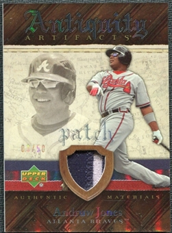 2007 Upper Deck Artifacts Antiquity Artifacts Patch #AJ Andruw Jones /50