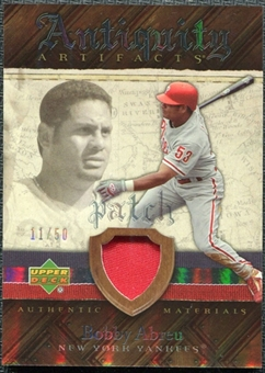 2007 Upper Deck Artifacts Antiquity Artifacts Patch #BA Bobby Abreu /50