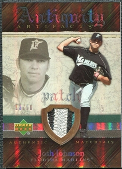 2007 Upper Deck Artifacts Antiquity Artifacts Patch #JJ Josh Johnson /50