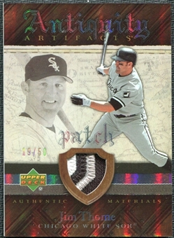 2007 Upper Deck Artifacts Antiquity Artifacts Patch #JT Jim Thome /50