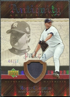 2007 Upper Deck Artifacts Antiquity Artifacts Patch #RC Roger Clemens /50