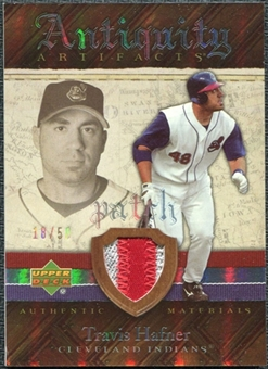 2007 Upper Deck Artifacts Antiquity Artifacts Patch #TR Travis Hafner /50