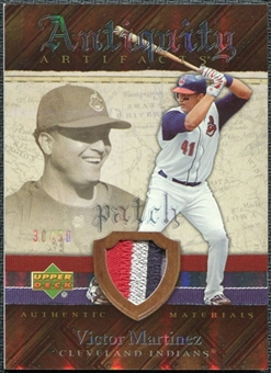 2007 Upper Deck Artifacts Antiquity Artifacts Patch #VM Victor Martinez /50