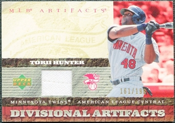 2007 Upper Deck Artifacts Divisional Artifacts #HU Torii Hunter /199