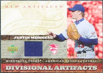 2007 Upper Deck Artifacts Divisional Artifacts #MO Justin Morneau /199