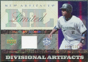 2007 Upper Deck Artifacts Divisional Artifacts Limited #HR Hanley Ramirez 100/130