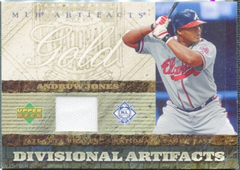 2007 Upper Deck Artifacts Divisional Artifacts Gold #AJ Andruw Jones