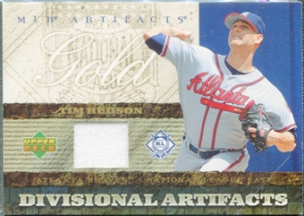 2007 Upper Deck Artifacts Divisional Artifacts Gold #TI Tim Hudson