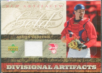 2007 Upper Deck Artifacts Divisional Artifacts Gold #VA Jason Varitek
