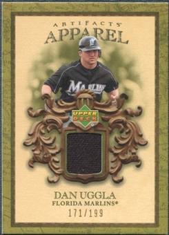 2007 Upper Deck Artifacts MLB Apparel #DU Dan Uggla /199