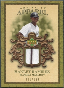 2007 Upper Deck Artifacts MLB Apparel #HR Hanley Ramirez /199