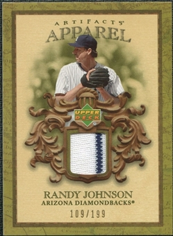 2007 Upper Deck Artifacts MLB Apparel #RJ Randy Johnson /199