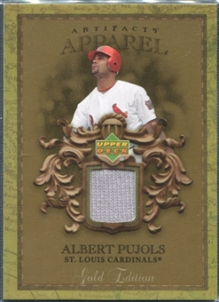 2007 Upper Deck Artifacts MLB Apparel Gold #AP Albert Pujols