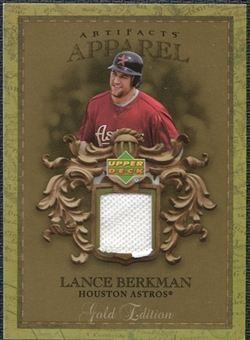 2007 Upper Deck Artifacts MLB Apparel Gold #LB Lance Berkman