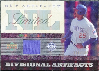 2007 Upper Deck Artifacts Divisional Artifacts Limited #DL Derrek Lee /130