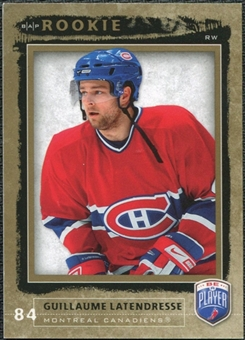 2006/07 Upper Deck Be A Player #231 Guillaume Latendresse RC /999