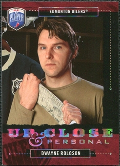 2006/07 Upper Deck Be A Player Up Close and Personal #UC17 Dwayne Roloson /999