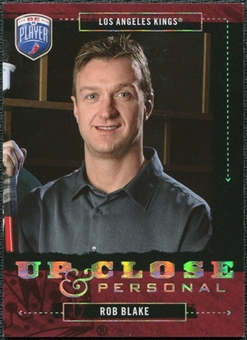 2006/07 Upper Deck Be A Player Up Close and Personal #UC47 Rob Blake /999