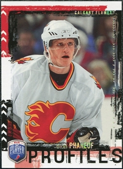 2006/07 Upper Deck Be A Player Profiles #PP26 Dion Phaneuf /499