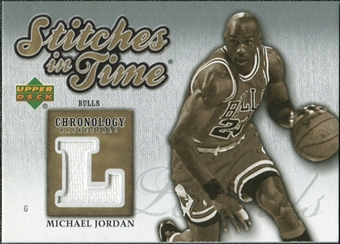 2006/07 Upper Deck Chronology Stitches in Time #SITMJ Michael Jordan /199
