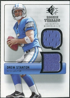 2007 Upper Deck SP Rookie Threads Silver #RTDS Drew Stanton