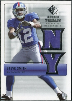 2007 Upper Deck SP Rookie Threads Silver #RTSS Steve Smith USC