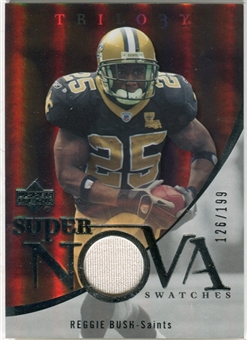 2007 Upper Deck Trilogy Supernova Swatches Silver #RB Reggie Bush /199