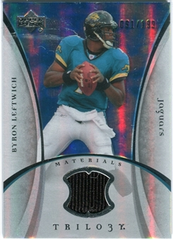 2007 Upper Deck Trilogy Materials Silver #BL Byron Leftwich /199