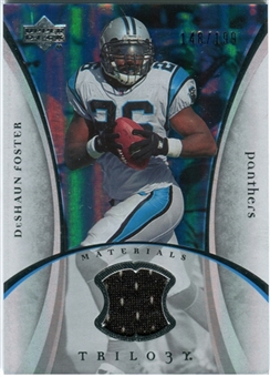 2007 Upper Deck Trilogy Materials Silver #DF DeShaun Foster /199
