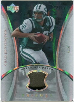 2007 Upper Deck Trilogy Materials Patch #CP Chad Pennington /79