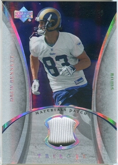 2007 Upper Deck Trilogy Materials Patch #DB Drew Bennett /79
