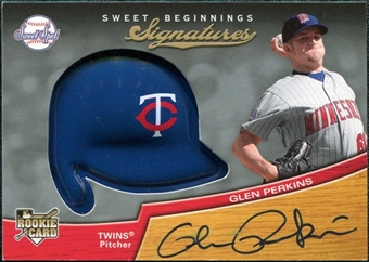 2007 Upper Deck Sweet Spot #117 Glen Perkins SP RC Autograph