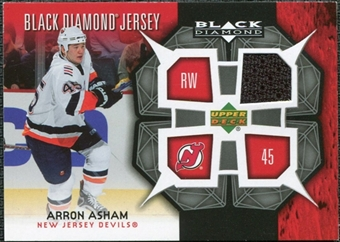 2007/08 Upper Deck Black Diamond Jerseys #BDJAA Arron Asham